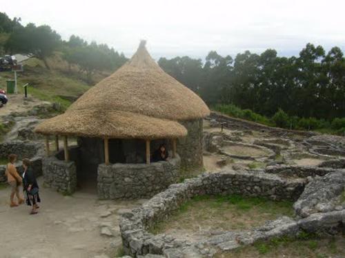 Celtas en Galicia, castro