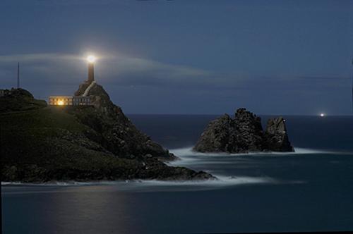 Faro de Cabo Vilán, el eléctrico más antiguo y raro