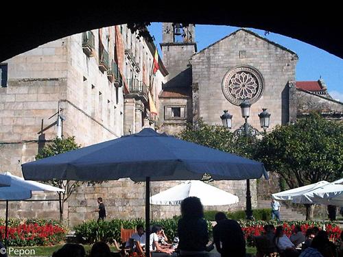 Pontevedra Casco Viejo  por Pepon