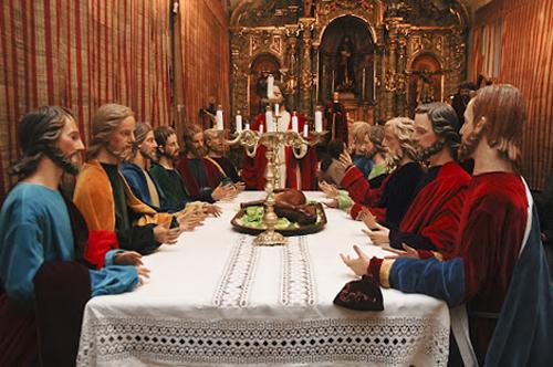 Viveiro, Semana Santa, Última Cena