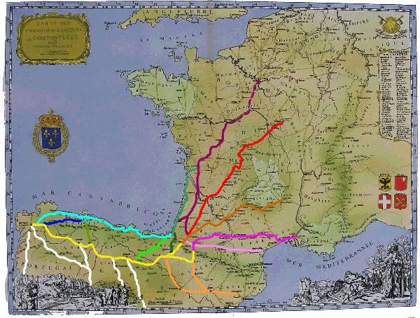 Camino de Santiago de la Costa