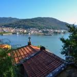 La localidad costera de Muros