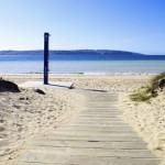 La bella Playa Grande de Miño