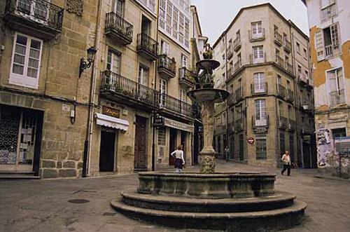 ourense plaza casco vello
