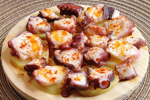 El pulpo a feira, el preferido de Galicia