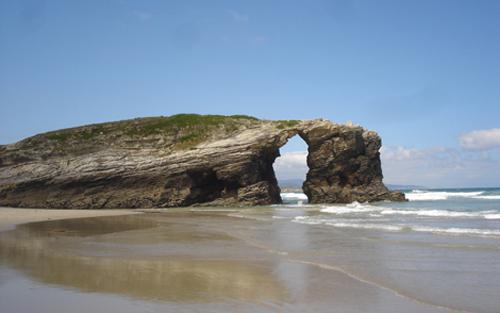rias altas catedrais playa