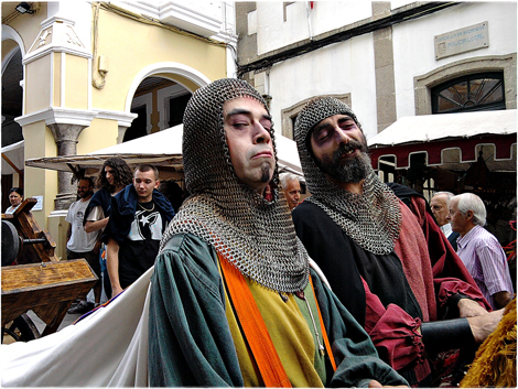 Betanzos, medievales