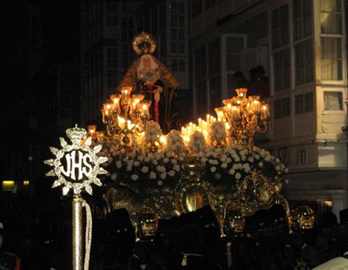 Ferrol, Semana Santa, Virgen de los Dolores