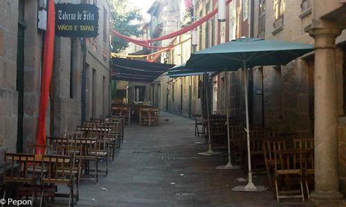 Pontevedra Casco Viejo  vinos por Pepon