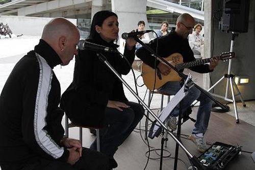 El primer concierto ofrecido por la bodega Martín Códax.