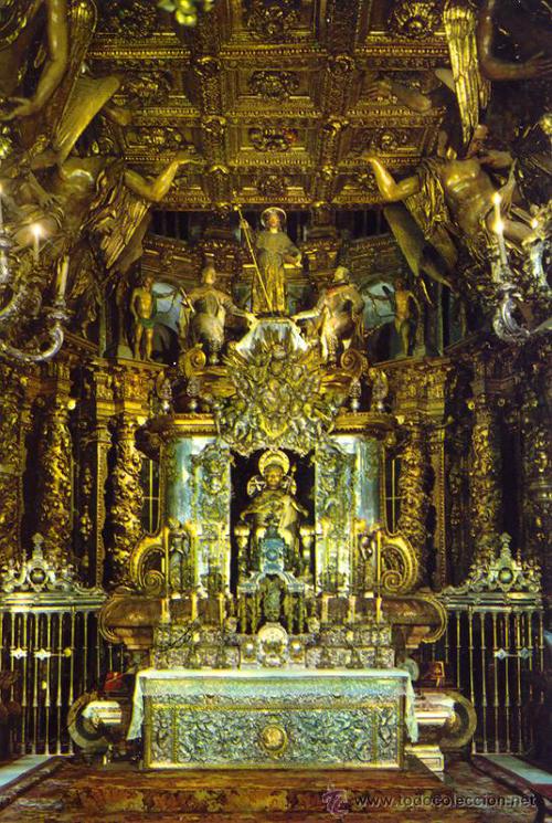 santiago, altar catedral