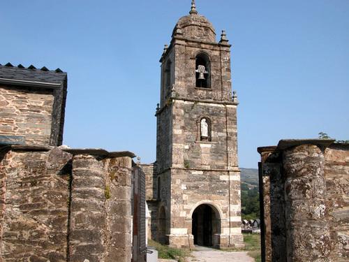 triacastela santiago parroquia